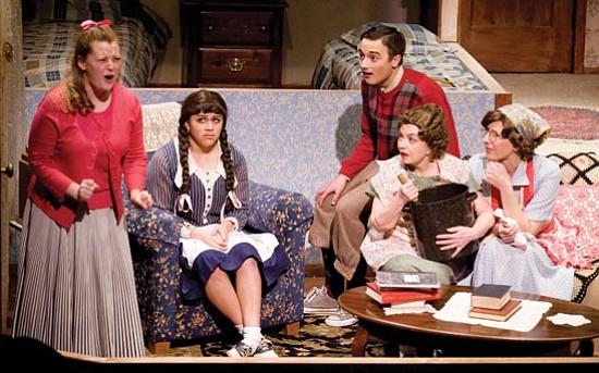 "Les Stukenberg/The Daily Courier Evening performances for the PFAA production of Neil Simon's ""Brighton Beach Memoirs"" start at 7:30 p.m. tonight, and Jan. 23, 28, 29 and 30. Tickets cost $16."