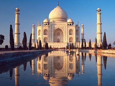 Courtesy photo<br/>India's Taj Mahal must be seen in person to be believed.<br/>
