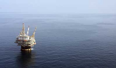 Mary Altaffer/The Associated Press<br />In this file photo taken Aug. 19, 2008, the Chevron Genesis Oil Rig Platform is seen in the Gulf of Mexico near New Orleans, La. Reversing a ban on oil drilling off most U.S. shores, President Barack Obama on Wednesday announced an expansive new policy that could put new oil and natural gas platforms in waters along the southern Atlantic coastline, the eastern Gulf of Mexico and part of Alaska.