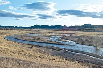 Granite Creek, our main waterway, and Watson Lake currently are on the Environmental Protection Agency list for not meeting the surface water quality standards because of excessive nutrient and bacteria levels. <i>(Courier file photo)</i>