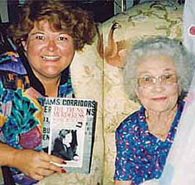 Courtesy<br /><br /><!-- 1upcrlf2 -->Author Jana Bommbersbach, left, will appear at both the Prescott and Prescott Valley libraries this Tuesday to discuss her book on Winnie Ruth Judd.
