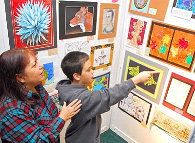 The Daily Courier/file<br> Local school districts' budgets are tight and getting tighter. Administrators have crunched the numbers and, if Prop. 100 fails next month, educational art programs will be among the cuts.