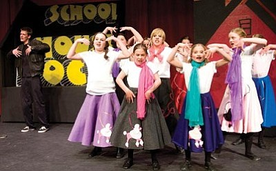 """Les Stukenberg/The Daily Courier<br /><br /><!-- 1upcrlf2 -->The Prescott Fine Arts Association presents """"Schoolhouse Rock Live!"""" at the theater on North Marina Street April 30 and May 1."""