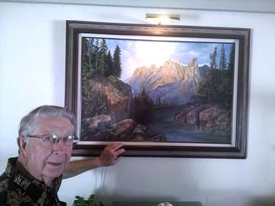 Courtesy photo<br> Dr. Vernon Rodgers plans to make the most of his retirement by painting more.