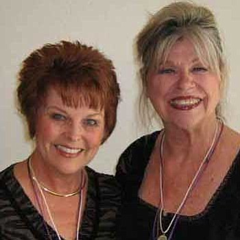 Courtesy photo<br>Suzy Lobaugh, left, and Judi Williams.