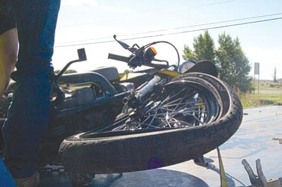 Motorcycle rider critical after Highway 69 accident | The Daily