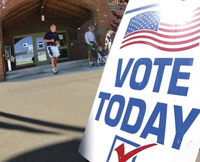 Polling places will open Tuesday at 6 a.m. and close at 7 p.m. Any voter already in line at that time will be able to cast a ballot.