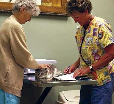 Courtesy photo<br> The Humane Society's clinic opened on Sept. 17, 2009, and since then it has logged more than 3,100 spay/neuter procedures (1,212 cats and 1,951 dogs).