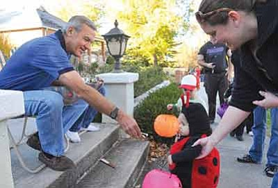 Matt Hinshaw/The Daily Courier, file<br>Roads will be closed for most of the evening along Mount Vernon Avenue in Prescott for trick-or-treating beginning at 4 p.m. and ending at 9 p.m. on Halloween.