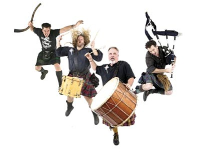 Courtesy photo<br>The Wicked Tinkers headline the Prescott Celtic Music Festival, which is Saturday at Watson Lake Park.