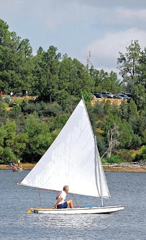 The Daily Courier/file<br> The Lynx Lake Recreation Area off Walker Road in Prescott will receive upgrades to its host sites and a new group campground in the coming months as part of a Prescott National Forest project.