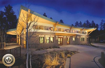 L. Kantor/Courtesy photo<br> Prescott-based Catalyst Architecture recently got an award from the Arizona chapter of the American Institute of Architecture for the design of The James Center at the Highlands Center for Natural History.