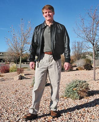 Brett Soldwedel/The Daily Courier<br>James Sanders had disk replacement surgery at Flagstaff Medical Center on November 2.