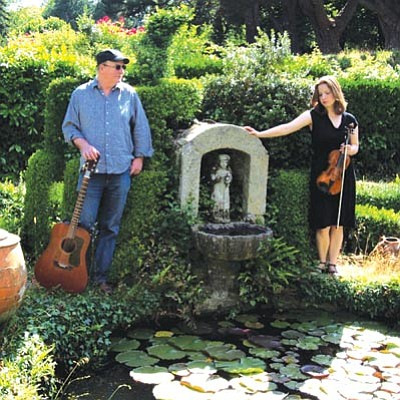 Courtesy photo<br> Gerry O'Beirne and Rosie Shipley will play 7 p.m. Friday at the Hassayampa Inn.