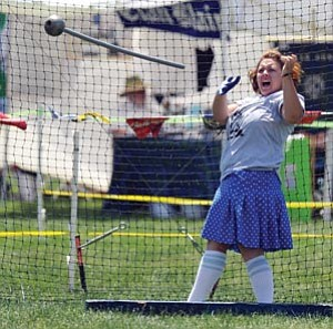 Les Stukenberg, file photo/The Daily Courier<br> This year's Highland Games will offer music, dance, food, competitions and a variety of other entertainment for families.
