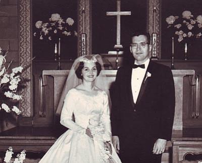Loren Ward Markel and Carol Stevens Markel, then