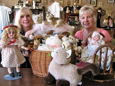 Courtesy photo<br /><br /><!-- 1upcrlf2 -->The Prescott Doll Show and Sale runs 10 a.m. to 4 p.m. Sunday at the Hassayampa Inn.