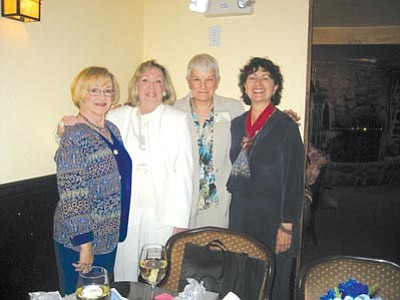 New graduated Prescott Art Docents are (left to right) Karen Buta, Donna Endresen, Chris Hardyman and Bonita Sandleben.