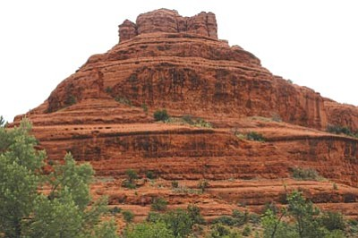 YCSO/Courtesy photo<br> A tourist visiting from Japan died in a fall from a ledge on Bell Rock in Sedona.