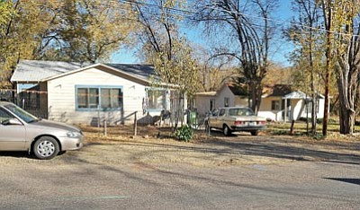 File art/The Daily Courier<br> The old dorms at Prescott College are on the move. Gary Denny and his crew will begin to move the homes Tuesday night. Denny said two of the homes are going to lots in Paulden and a third is going to a lot in Chino Valley until it sells.