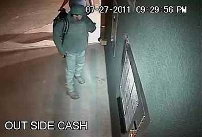 Prescott Valley Police Department/Courtesy<br>The Prescott Valley Police Department seeks the public's help in identifying suspects in a burglary early Wednesday, July 27 at the coin-operated machines at the Galpin Ford R.V. Wash on State Route 69.