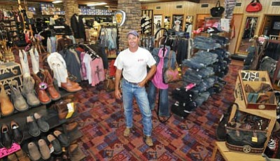 Les Stukenberg/The Daily Courier<br>Jimmy Savoini, owns Savoini's at 1117 Iron Springs Road, Prescott, which has been in business in the same location since 1963.