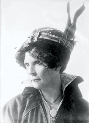 Courtesy photo<br> Frances Willard Munds of Prescott was a major force in Arizona's suffrage movement, and later became its first female state senator.
