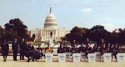 Courtesy photo<br /><br /><!-- 1upcrlf2 -->The Navy Commodores, the U.S. Navy's elite ensemble of jazz musicians, will perform in Prescott on Thursday at the Yavapai College Performance Hall.