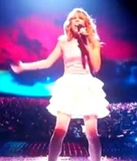 "Drew Ryniewicz sings Nelly's ""Just a Dream"" on ""X Factor"" Wednesday night."