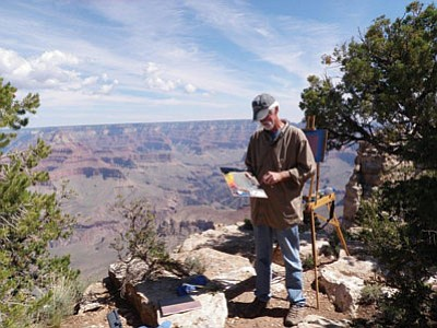 Grand Canyon Association's Celebration of Art opening reception starts this Saturday.