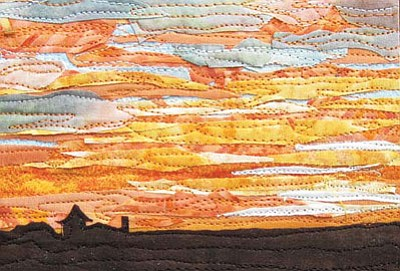 A quilted El Tovar Sunset creation. Submitted Photo