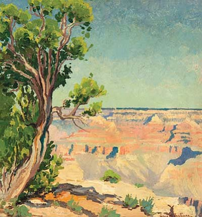 Grand Canyon, c. 1920 by Jessie Benton Evans. Submitted image<br /><br /><!-- 1upcrlf2 -->