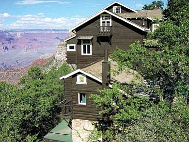 Kolb Studio sits precariously on the edge of the South Rim. Tours inside the residence are now available. Ryan Williams/WGCN<br /><br /><!-- 1upcrlf2 -->