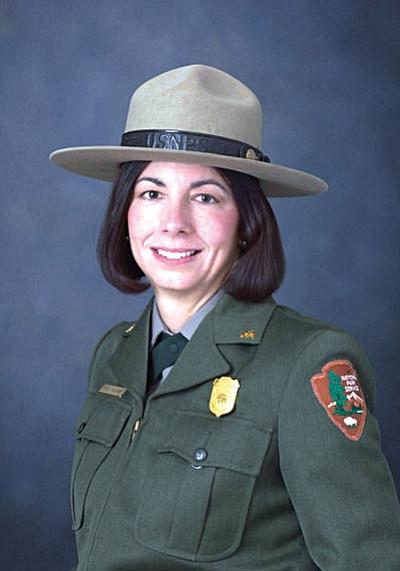 Deputy Superintendent Diane Chalfant. Photo/NPS