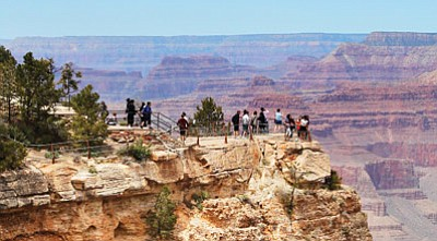 Visitors to grand canyon spent $467,257,000 in Arizona in 2011 according to a study by Yue Cui, Ed Mahone  and Teresa Herbowicz of Michigan State University.