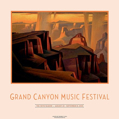 Grand Canyon Music Festival's 30th anniversary poster. Submitted image.