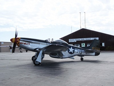 One of the many airplanes available for viewing at the ninth annual Thunder Over the Coconino fly-in Aug. 24. Submitted photo