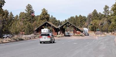Entrance to the Grand Canyon National Park. Clara Beard/WGCN