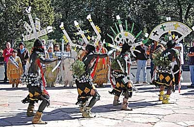 Dishchii'bikoh Apache Crown Dancers will perform at Grand Canyon's Native American Heritage celebration. Photo/NPS<br /><br /><!-- 1upcrlf2 -->