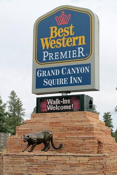 Grand Canyon Squire Inn plans to construct more than 400 new rooms over the next 10-15 years. Clara Beard/WGCN
