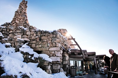 Hermits Rest is a popular destination even in the winter months. The building turns 100 years old this year. Ryan Williams/WGCN<br /><br /><!-- 1upcrlf2 -->