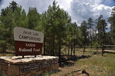 North Kaibab sites DeMotte Campground, Jacob Lake Campground and the Kaibab Plateau Visitor Center are now open for the summer season. Photo/Kaibab National Forest