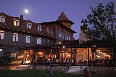The El Tovar on the South Rim of  Grand Canyon National Park is one of many lodging and hospitality facilities operated by and under contract with Xanterra. Photo/NPS