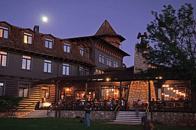 The El Tovar Lodge and restaurant on the South Rim of the Grand Canyon. File Photo
