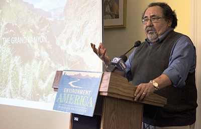 Rep. Raul Grijalva, D-Tucson, said efforts to weaken the Antiquities Act are being driven by ''special interest groups with an agenda cloaked in economic recovery and jobs.'' PhotoKristen Hwang