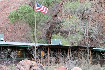 The ranger station at Phantom Ranch serves as home for Mandi Toy. Loretta Yerian/WGCN