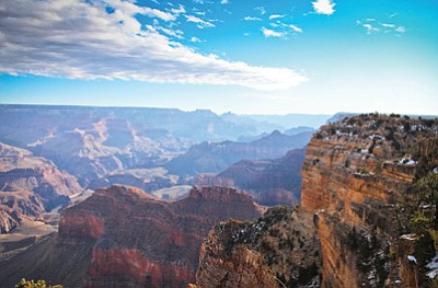 Grand Canyon National Park kicks off it's centennial celebrations with Find Your Park campaign. File Photo