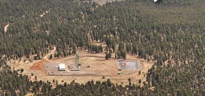 Canyon Mine is around six miles from the South Rim of Grand Canyon. Photo/Bruce Gordon, Ecoflight