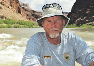 Grand Canyon Backcountry Ranger Bil Vandergraff celebrates retirement from the National Park Service this month and is the 2014 recipient of the esteemed Harry Yount Award. Photo/Geoff Richardson