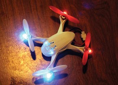 A privately owned drone. Loretta Yerian/WGCN